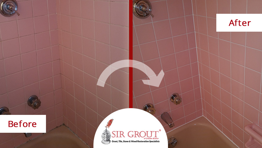 Shower recaulking service prevented potential water damage for Bathroom caulking service