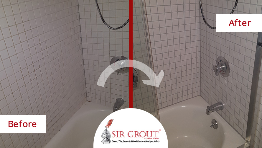 how to clean moldy grout