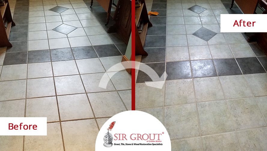Grout Cleaning Transformed the Floors of this Family Home in ...