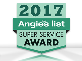 Angie's List Super Service Award 2017 for Sir Grout of Greater Boston