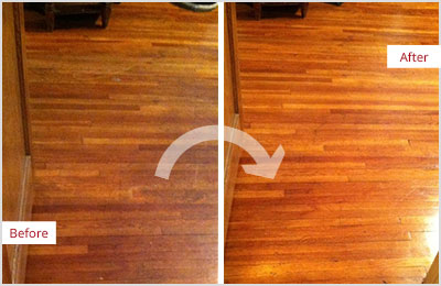 Sir Grout of Greater Boston Sandless Wood Refinishing