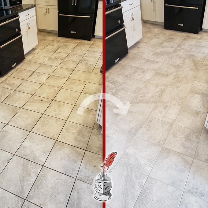 Kitchen Floor Restoration Process