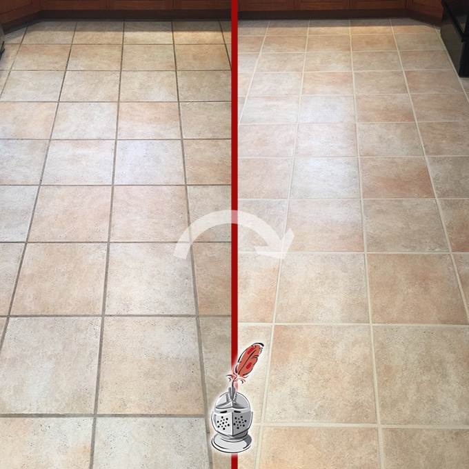 Kitchen Floor Restoration