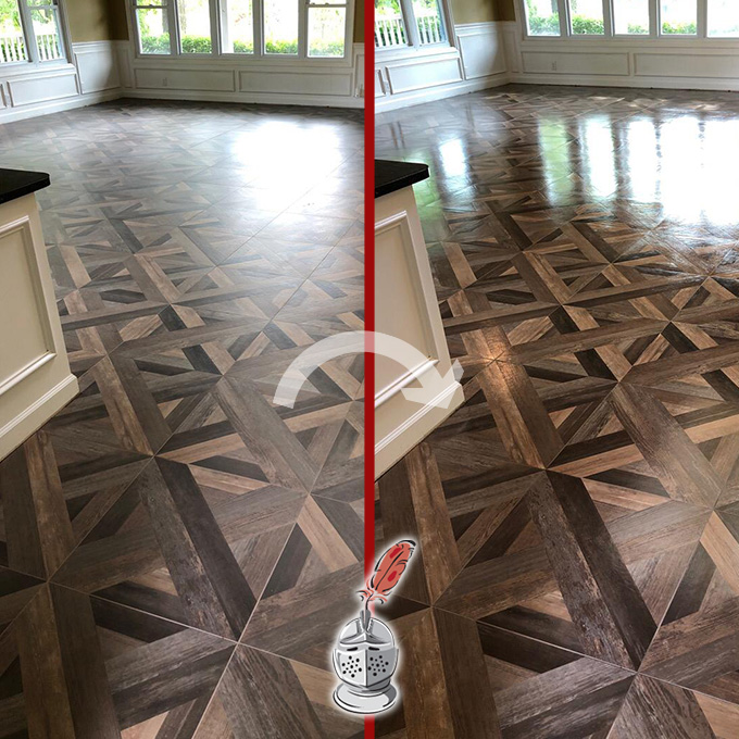 Pool House Floor Restoration