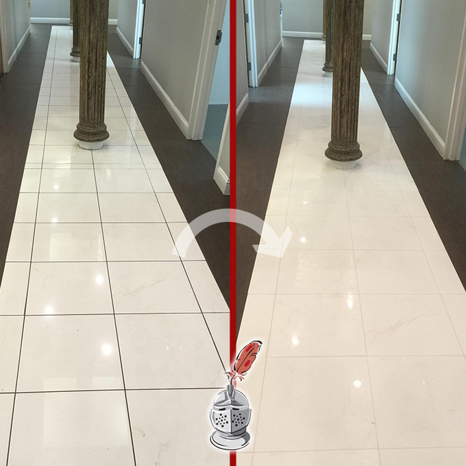Office Grout Cleaning
