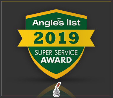 Angie's List Super Service Award 2019 for Sir Grout Boston