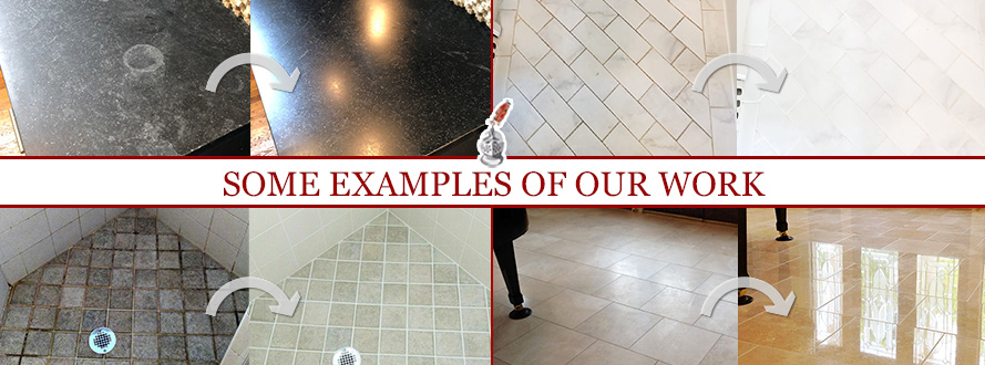 Before and After Pictures of Some Examples of Sir Grout Boston's Work