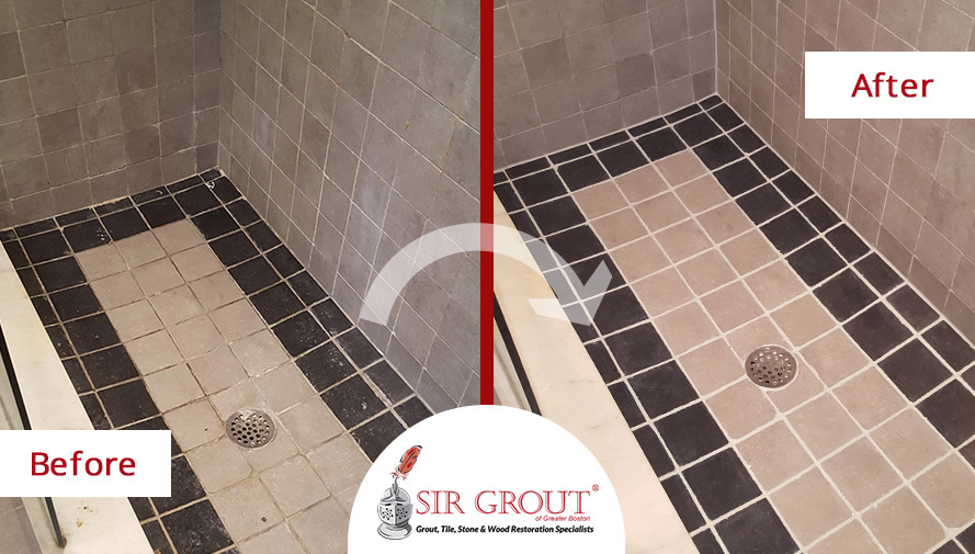 A Grout Cleaning And Sealing Service In Everett, MA Gave This Bathroom A  Fresh,