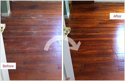 Sir Grout of Greater Boston Deep Wood Cleaning
